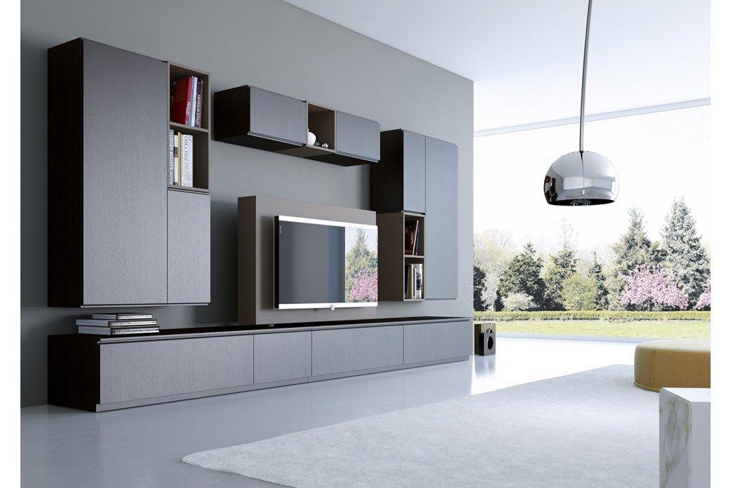 Porta Tv Orientabile in Rovere Wengè #living #astor nel 2020 ...
