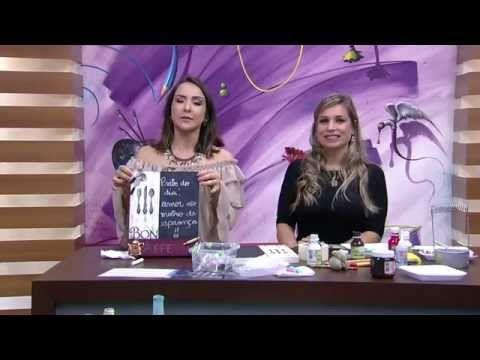 Quadro gourmet com lousa P2 Camila Claro De Carvalho Mulher com 21 10 2015 - YouTube