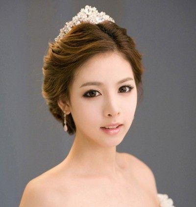 korean wedding hairstyle coiffure