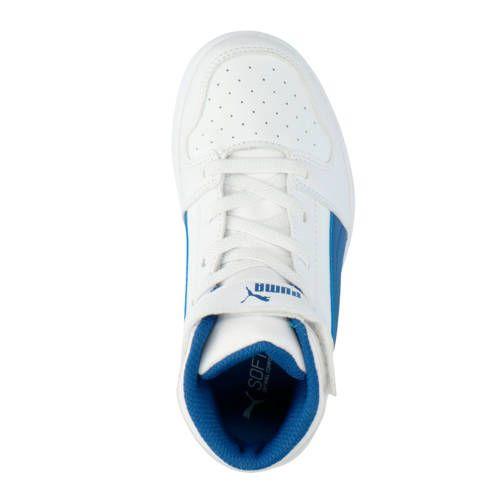 Puma Rebound Layup SL V PS sneakers wit/blauw - Blauw en ...