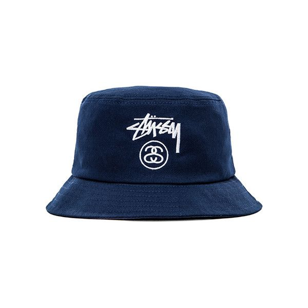 Stussy Stock Lock HO14 Bucket Hat Accessories ( 28) ❤ liked on Polyvore  featuring mens 6f3aa7ea0091