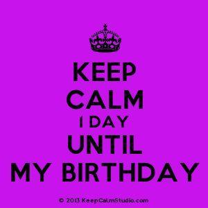 Pin On Birthday Countdown