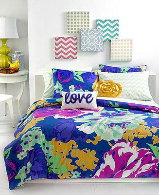 teen vogue bedding isabella floral comforter sets bed in a bag bed