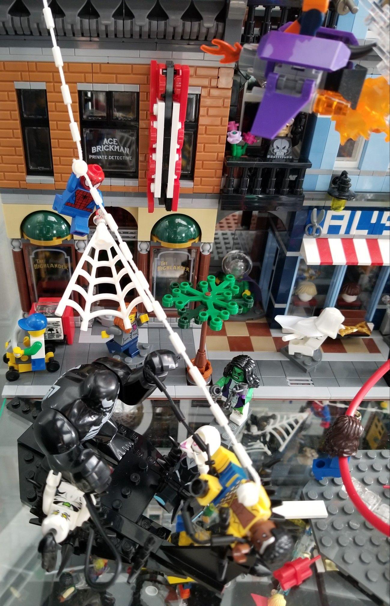 Moc Jeu Legomarvel Street VenomMarvel Fight Display PTXZuwkOi
