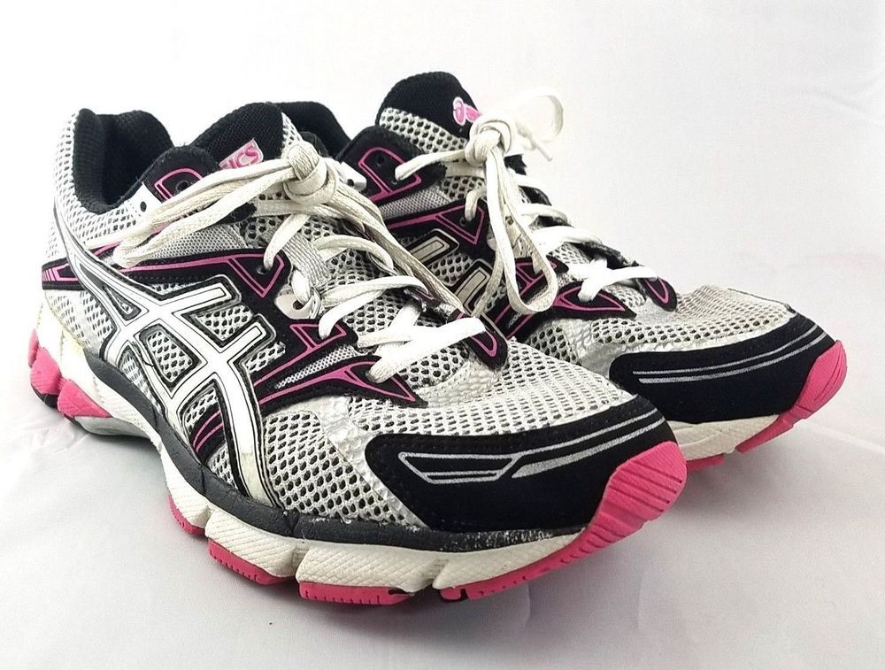ab5f3733d2bc Womens ASICS GT-1000 T2L6N Silver Black Hot Pink Size 10 M Walking Running  Shoes  ASICS  RunningShoes