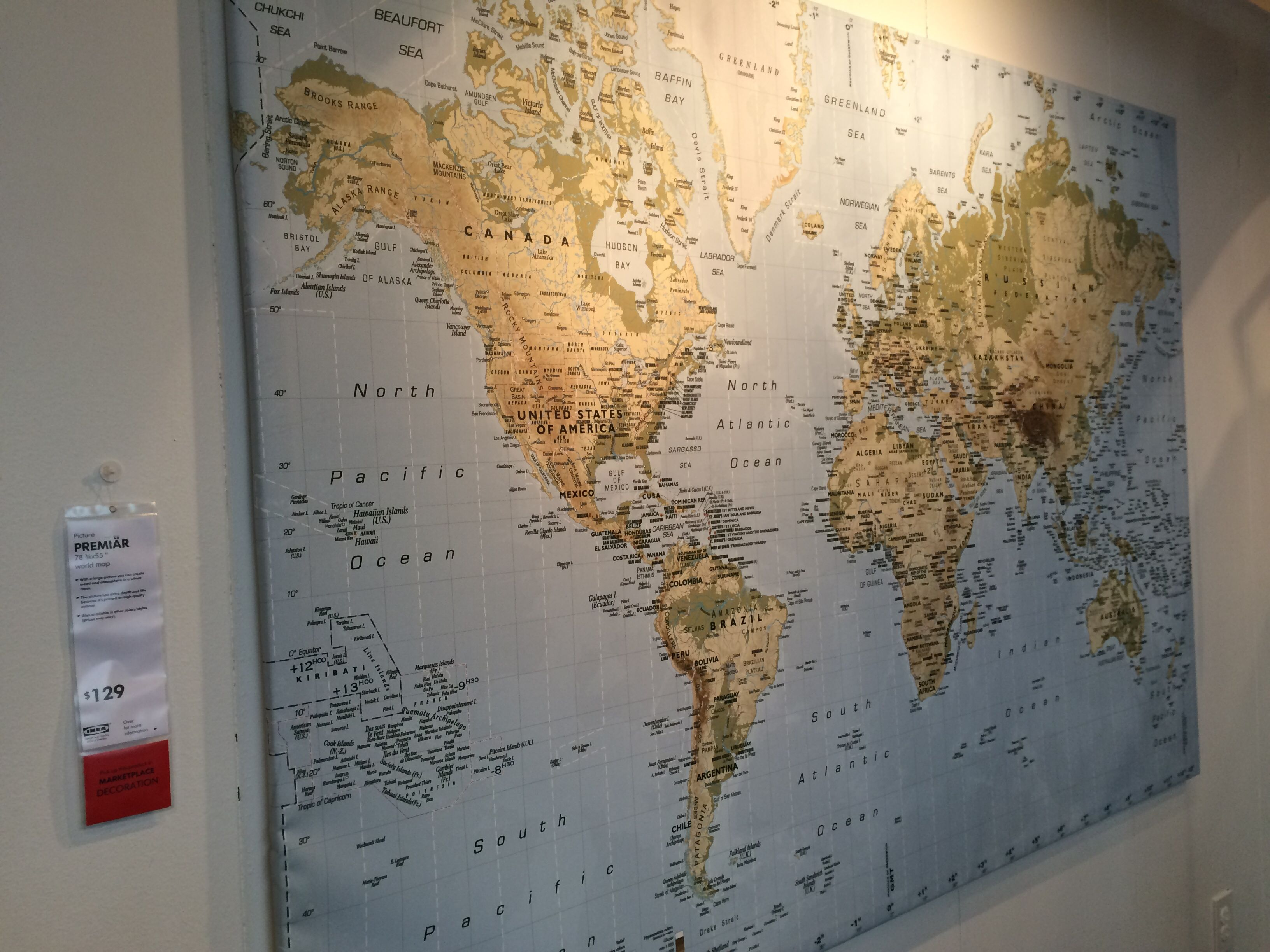 IKEA world map mural | Decor Ideas | Pinterest | Room