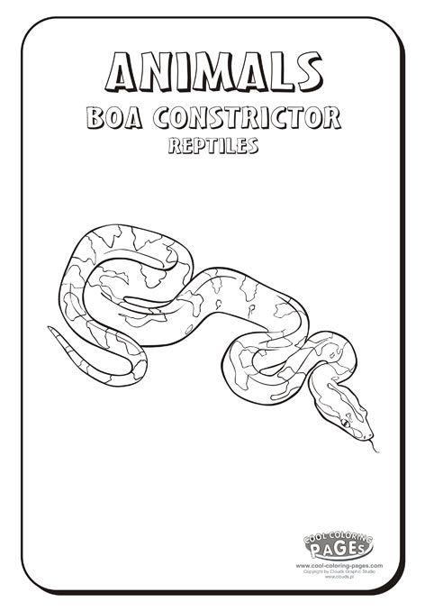 Printable Boa Constrictor sheet   Animals ♡   Pinterest   Boa ...