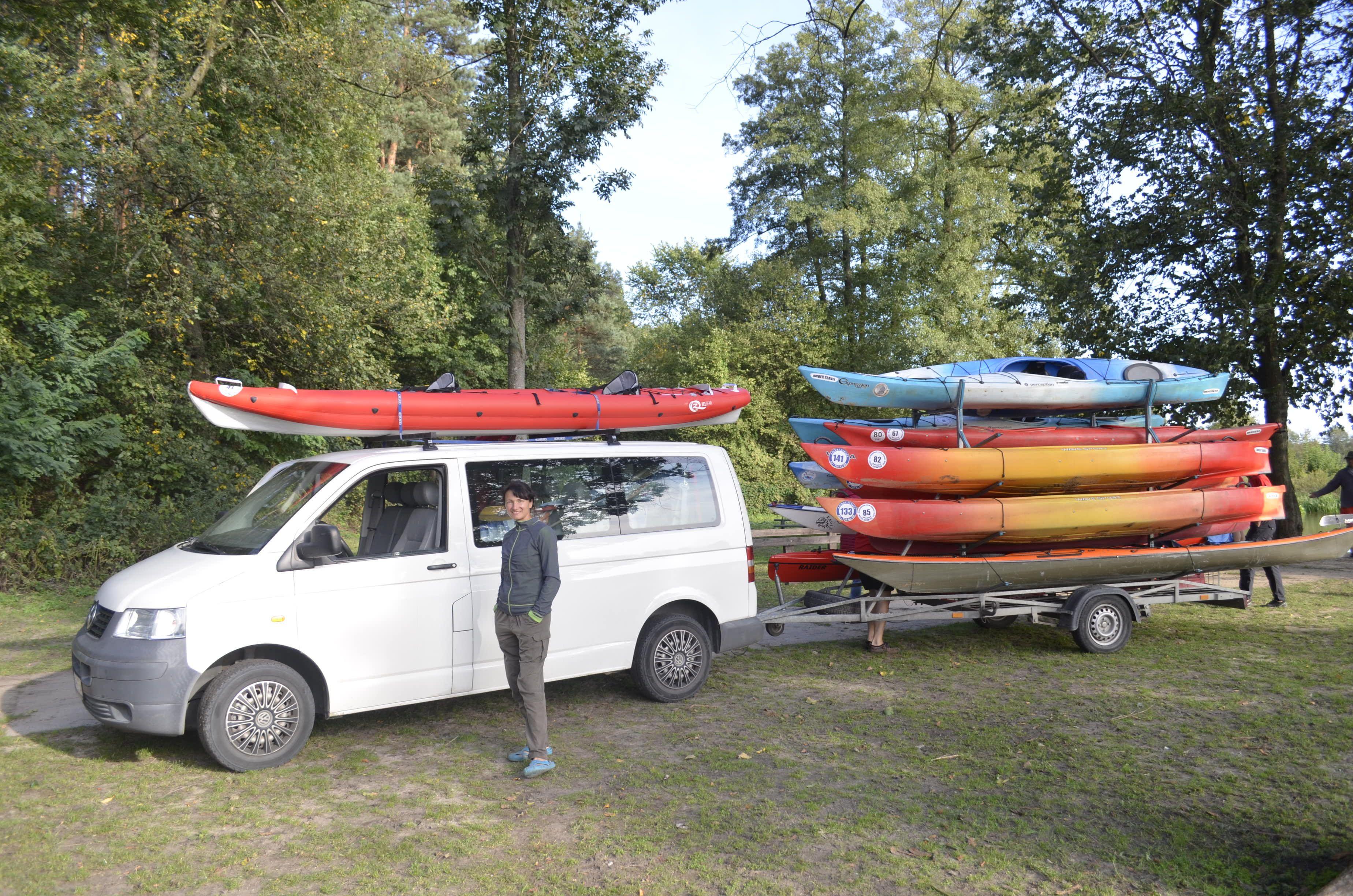 Ik Spark 450 Competitions In Poland Kayaking Inflatable Kayak Van