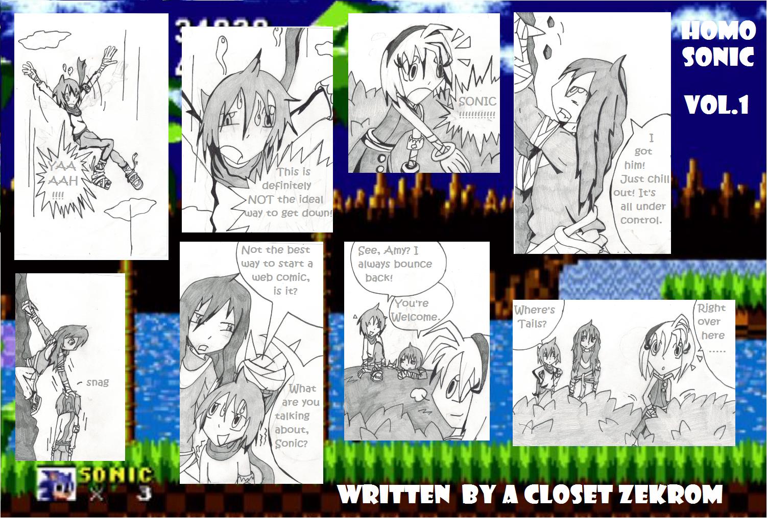 Sonic comic: Revision