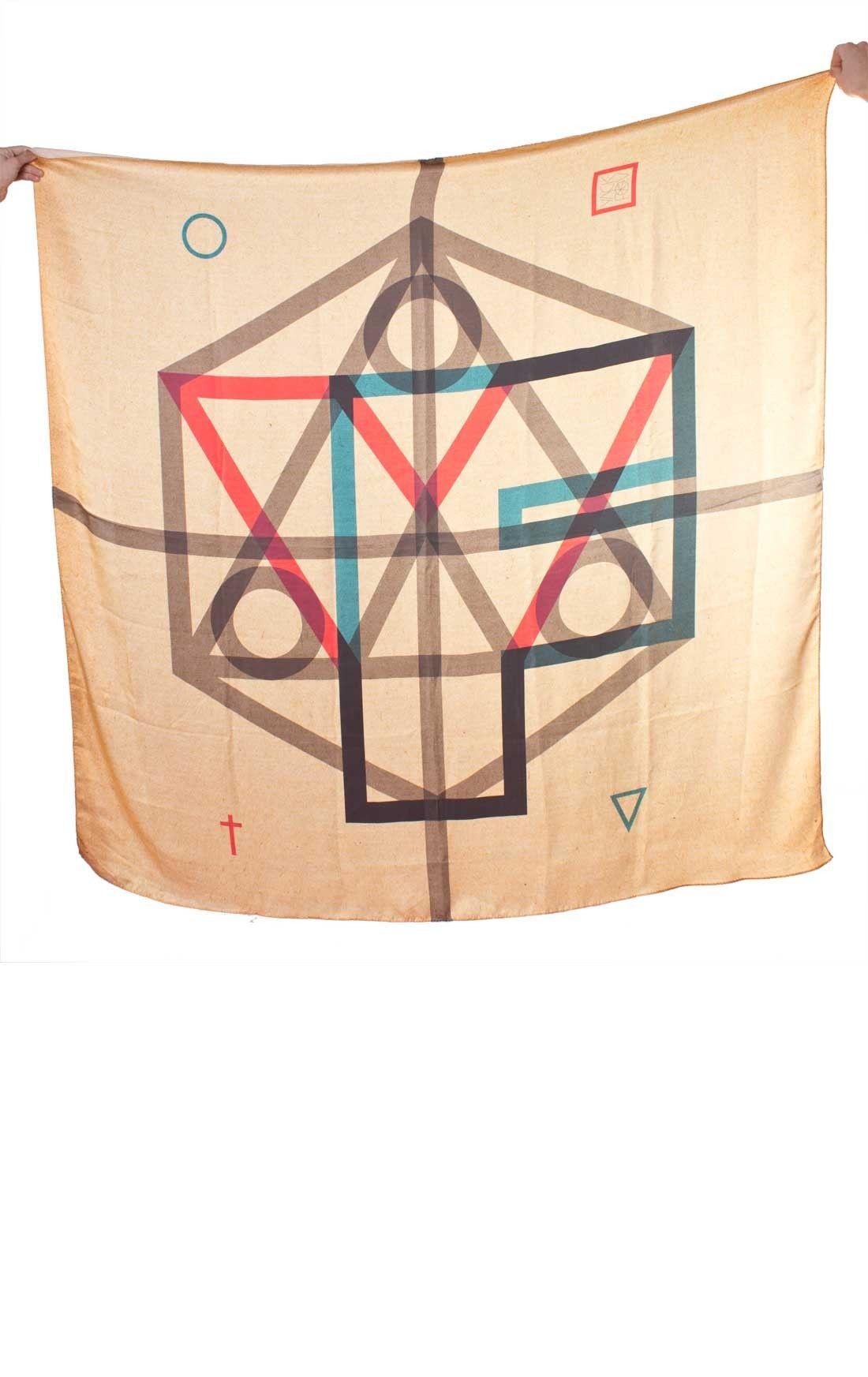 YackFou silk scarf