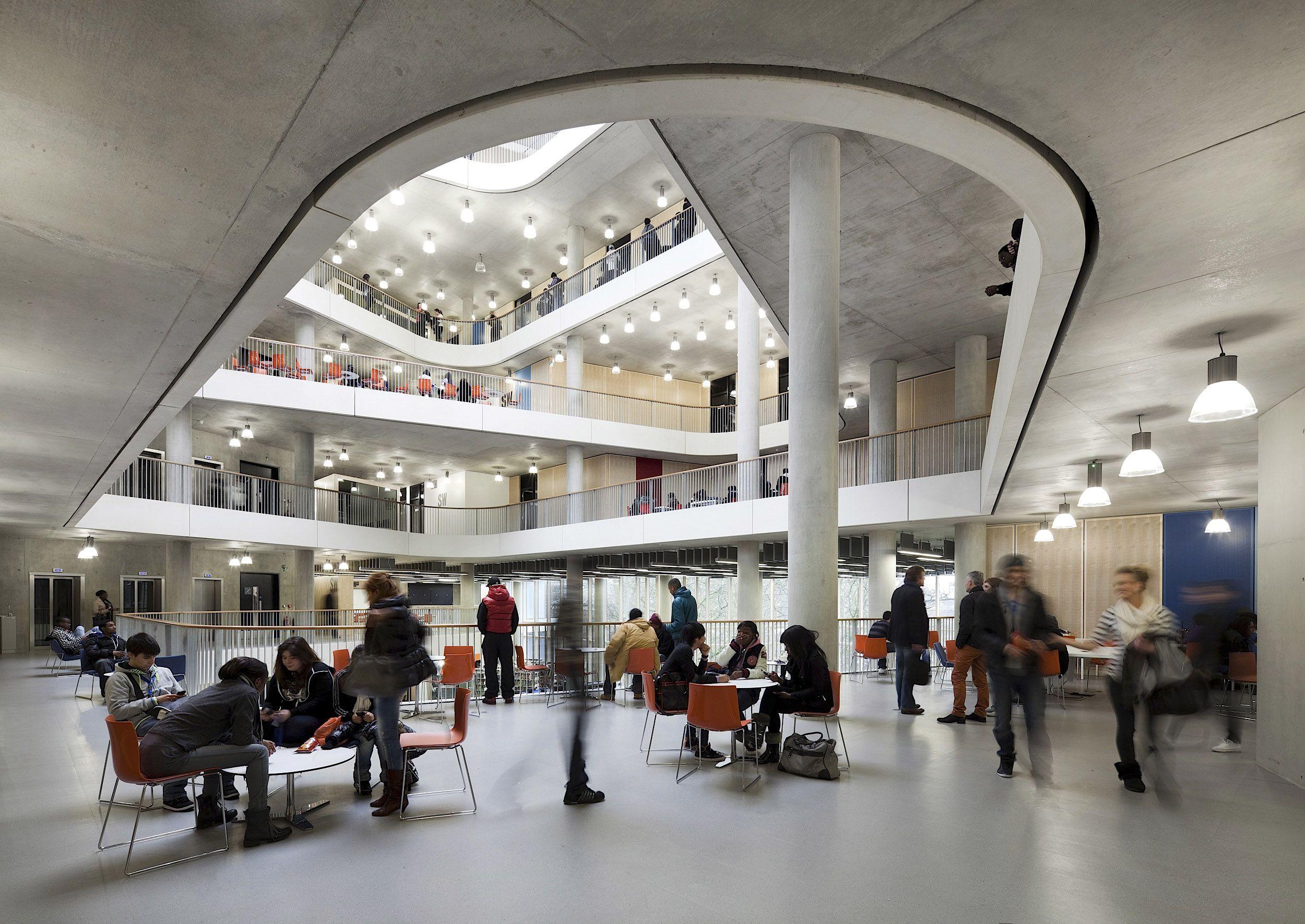 City Of Westminster College London United Kingdom Schmidt Hammer Lassen Architects Photo Adam Mork City Of Westminster College Westminster Architects London