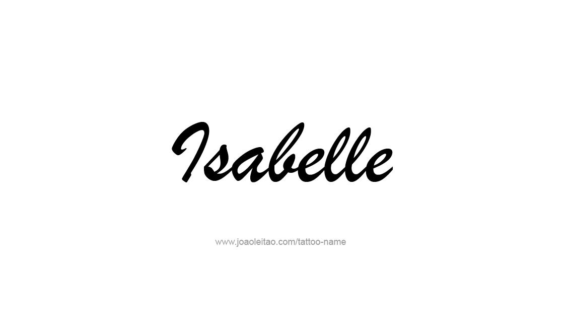 12++ Isabelle name art info
