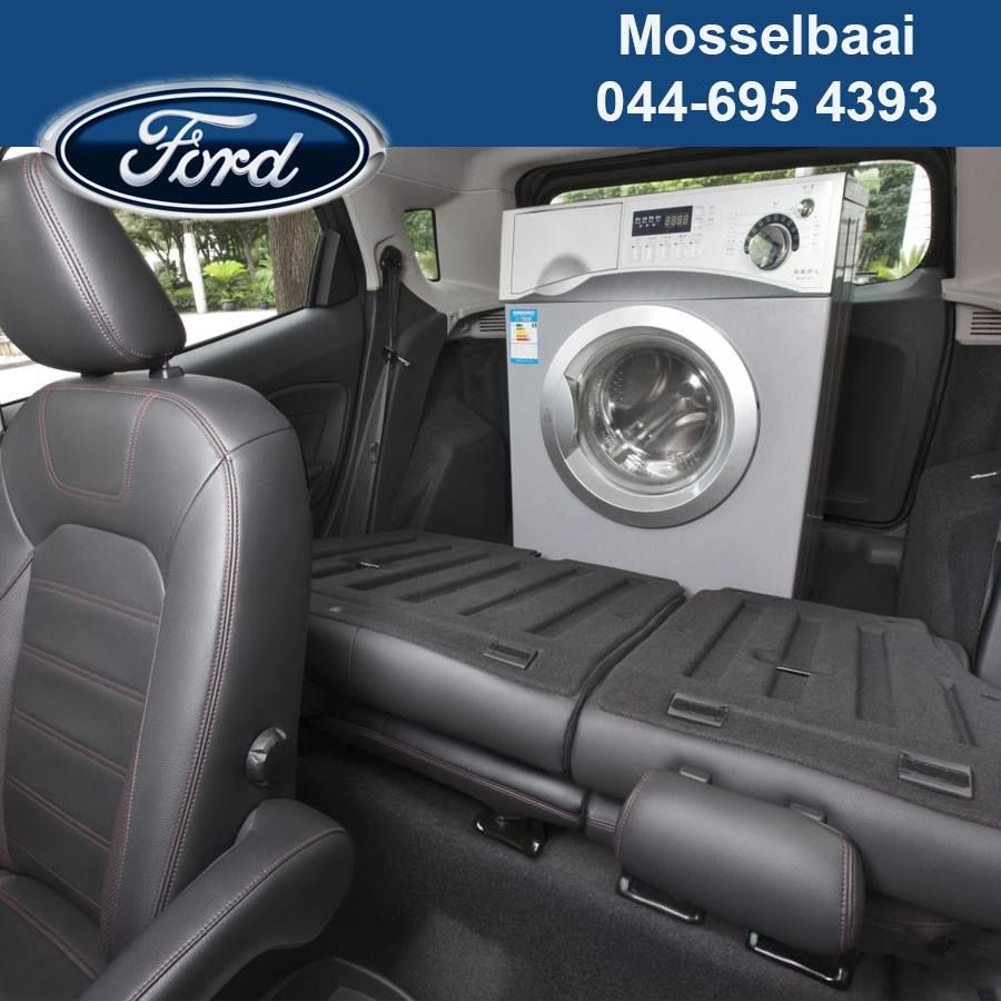 The ford ecosport allows you to fold your rear seats flat giving you 705 litres