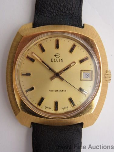 vintage lord elgin 14k gold filled mens wrist watch 23 jewel cal earth alone earthrise book 1 antique watchesmens wrist