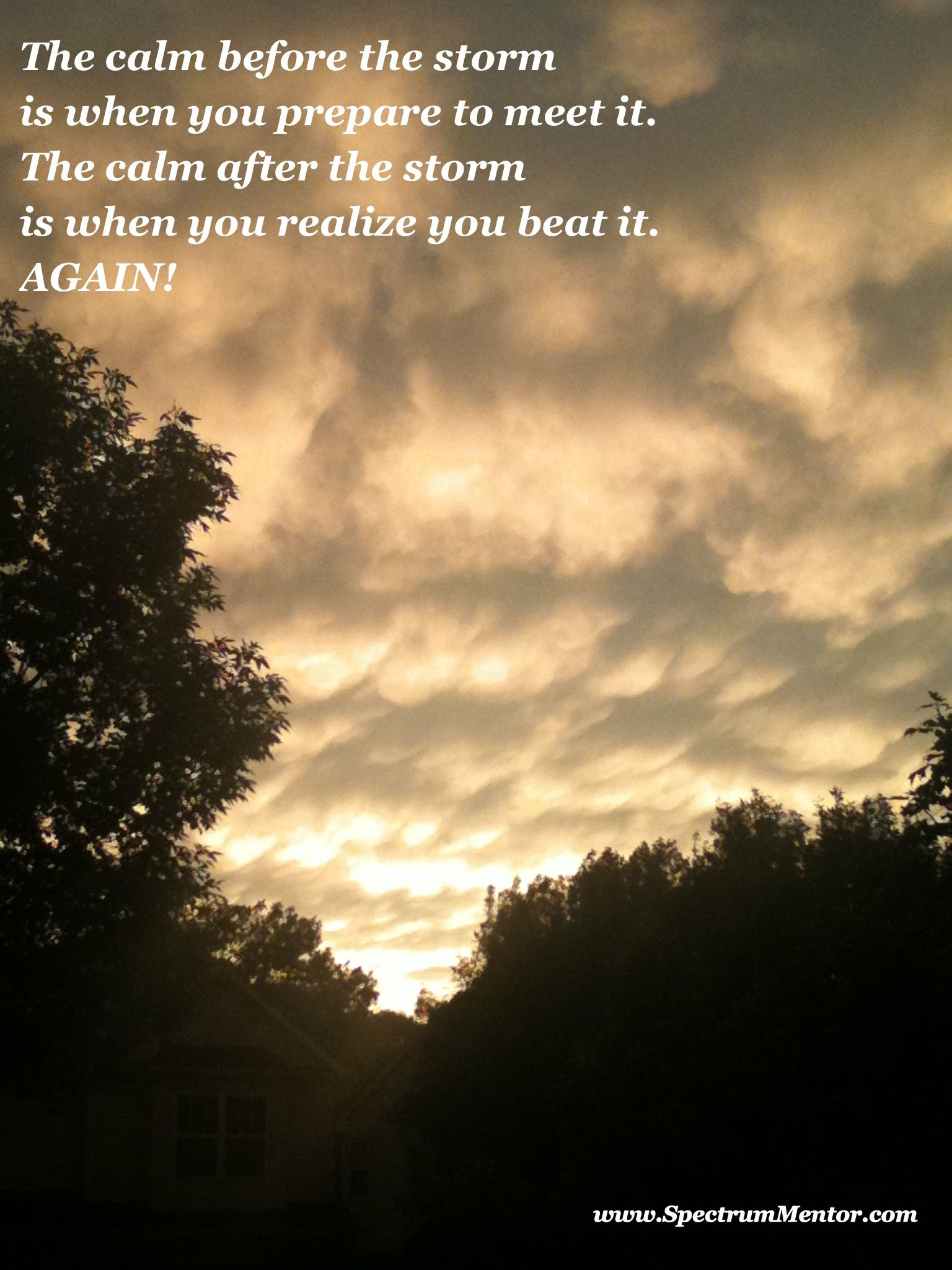 The calm after the storm . . . | Storm quotes, Calm after ...