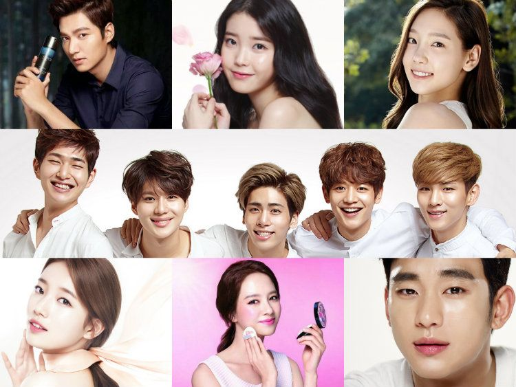 From K Pop Idols To Actors The Many Faces Of Korean Cosmetics Korean Cosmetics Korean Photo Korean Drama Tv