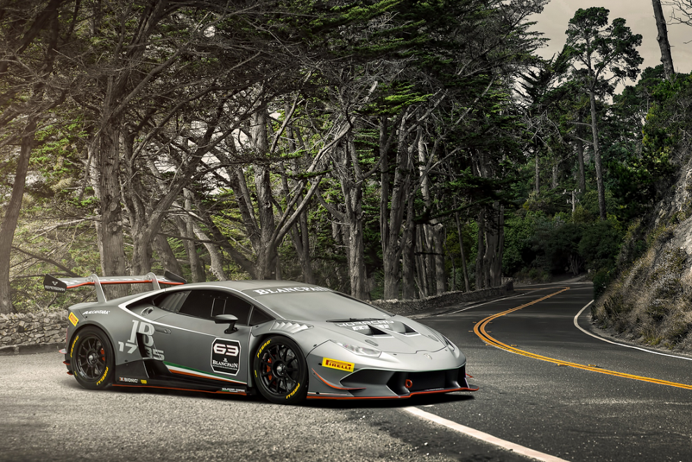 The Lamborghini Huracan LP 620-2 Super Trofeo, by Joel Chan