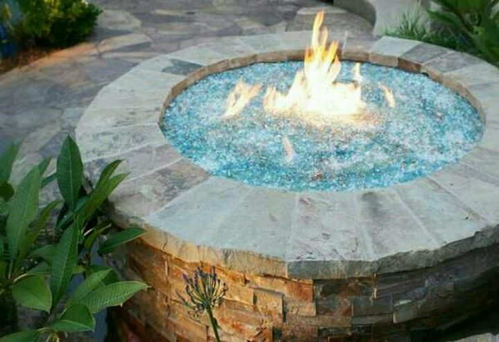 Fire Water Pit Diy Fountain Outdoor