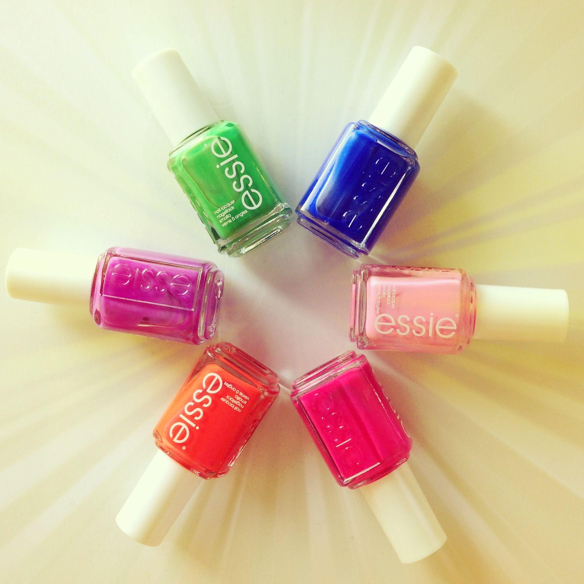 Die neuen Sommerfarben von essie ♥
