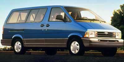 1997 Ford Aerostar Cargo Van Ford Aerostar Car Ford Ford