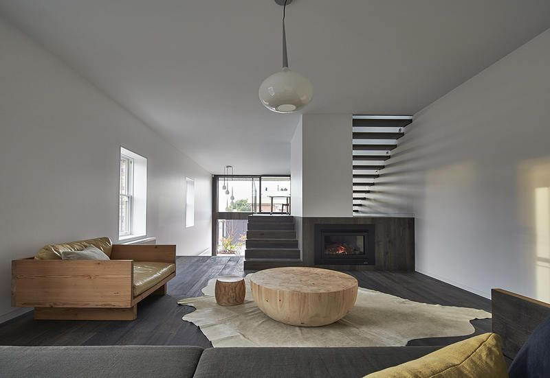 Julie Firkin Architects Concluded The Redesign Of A Victory Home In Fitzroy  In Australia With Eco
