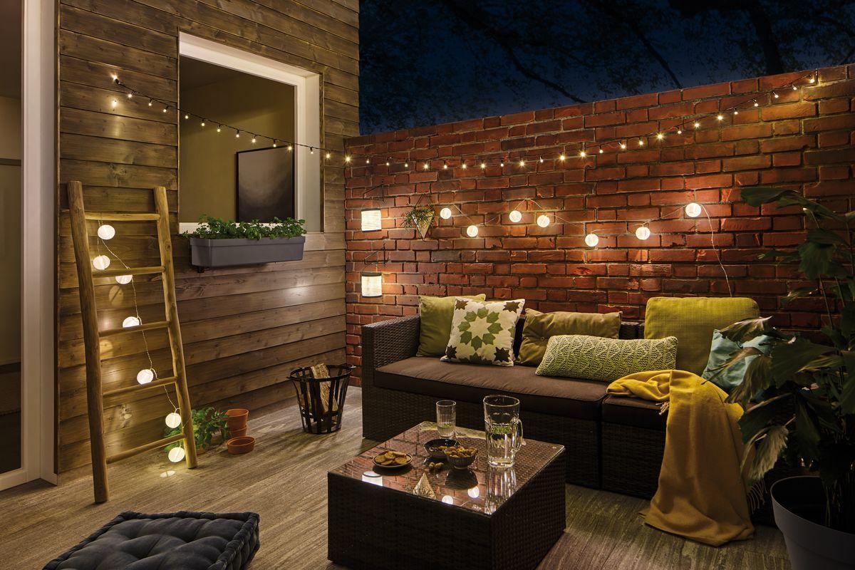 Terrassengestaltung mit Licht Ideen & Tipps ✓ zum Terrassenlicht ...