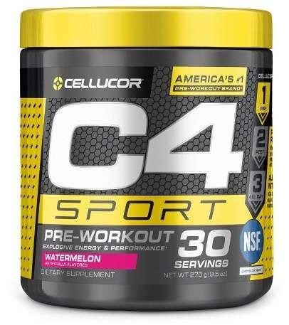 Cellucor C4 Sport Pre Workout Powder Watermelon 9 5oz Preworkout Cellucor Pre Workout Energy