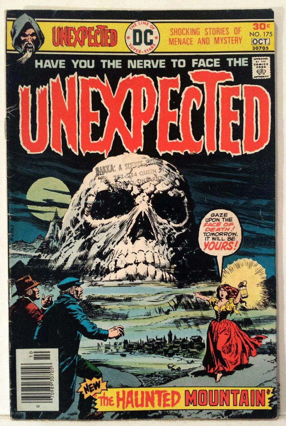 Vintage Comic Book Cover Art The Unexpected Horror Comics Fantasy Comics Creepy Comics