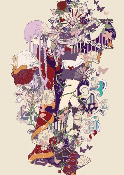 きりぎりさん ボルボネ イラスト 柄 イラスト マンガアニメ