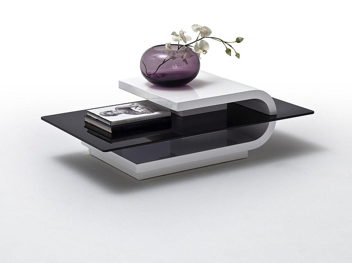 Wohnzimmertisch Schwarz ~ Bronko couchtisch weiß schwarz schwarz weiss design pinterest