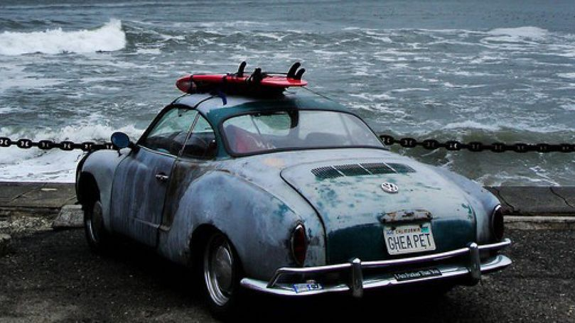 vintage car surf board   Vintage surf, Surfing, York beach