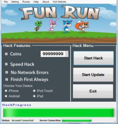 How To Hack Fun Run 2