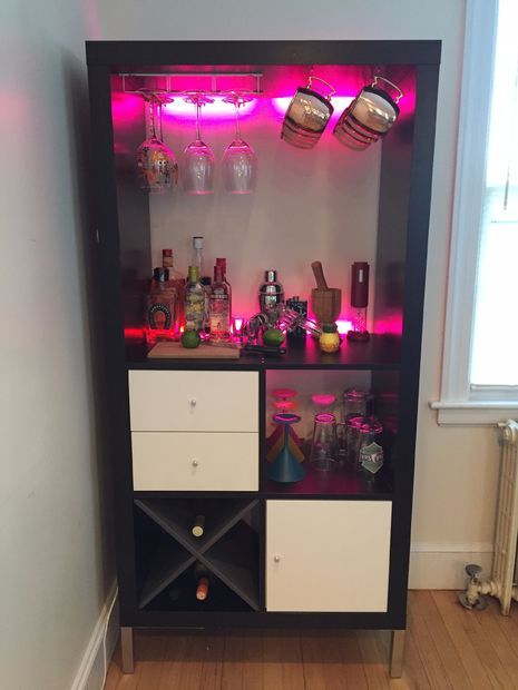 Ikea expedit kallax bar ikea expedit bar and house - Mobile bar ikea ...