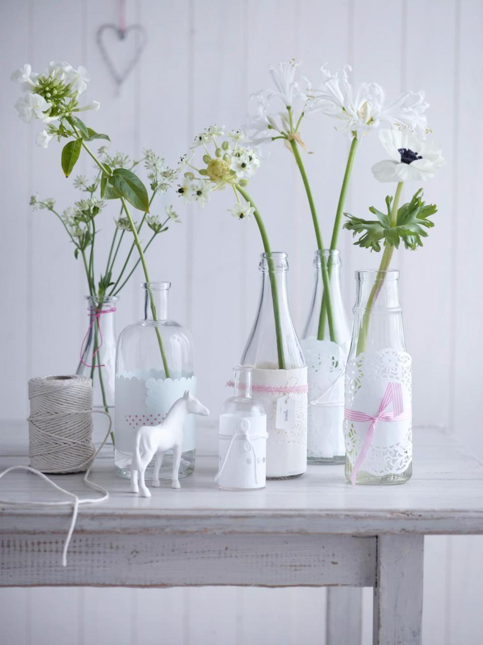 Tischdeko Mit Blumen Tischdeko