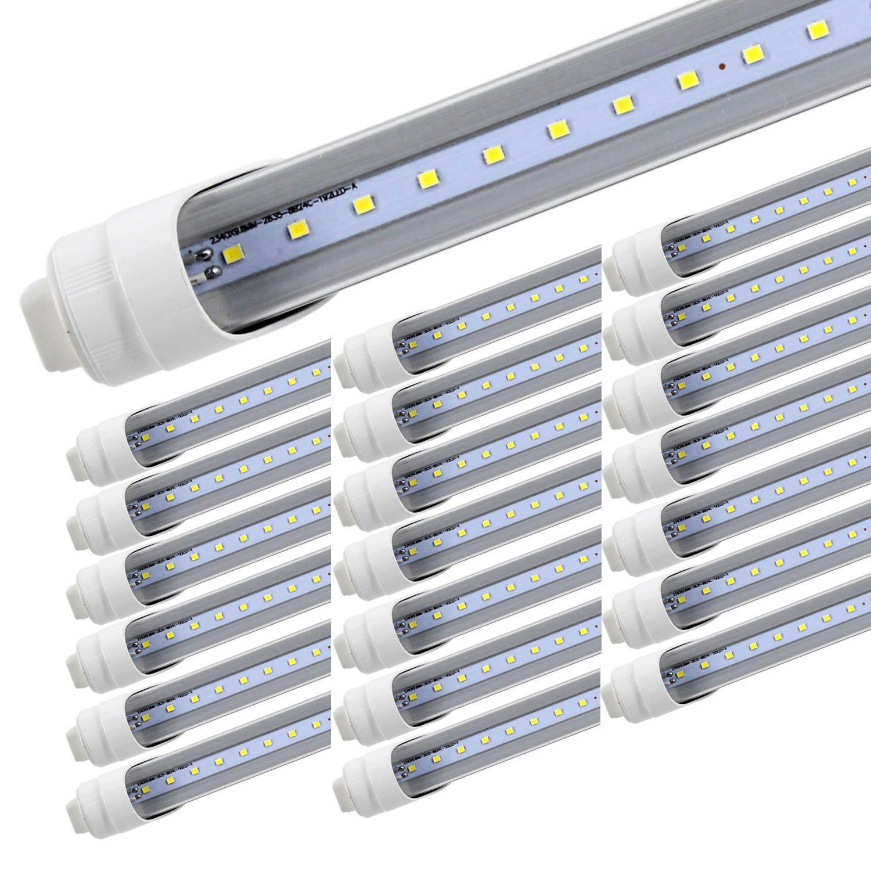 R17d 8 Foot Led Bulbs T8 T10 T12 8ft Led Tube Light F96t12