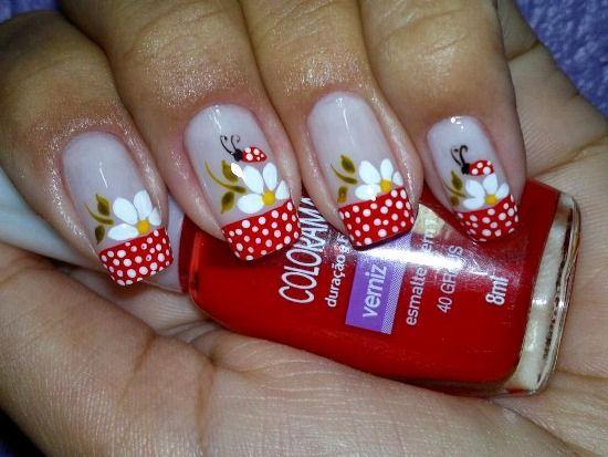 42 Cute Ladybug Nail Art Designs Nail Design Ideaz Beauty