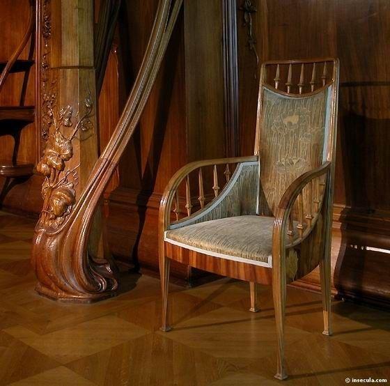 Art Nouveau Et Jugendstil Courants Artistiques Et Litteraires De 1880 A 1920 La Villa Majorelle A Nancy I Sillon Antiguo Art Deco