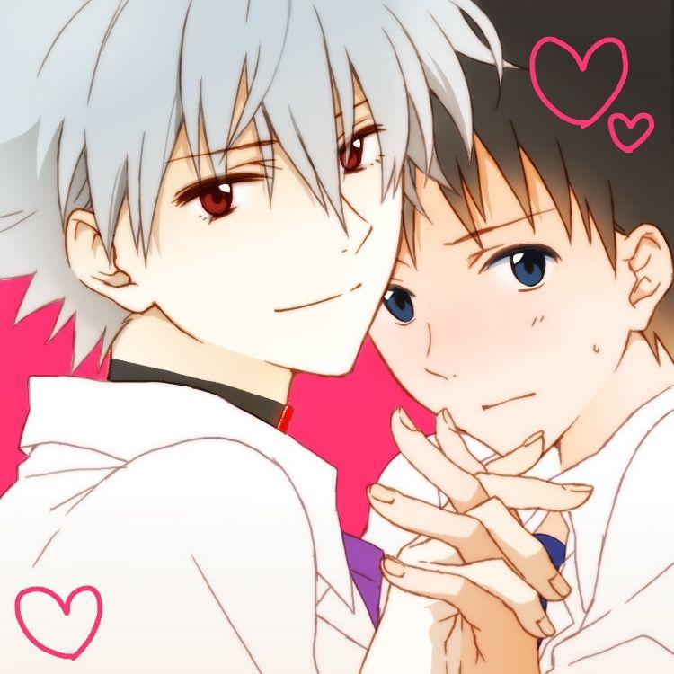 Kaworu Nagisa Shinji Ikari Holding Hands Heartwarming Evangelion 3 33 Motako Pixiv Neon Genesis Evangelion Evangelion Evangelion Kaworu