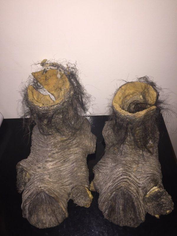 costume halloween movie prop scary feet scary feet prop movie