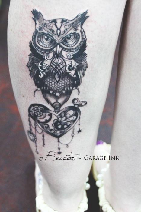 Tattoo by Becstar @ Garage Ink