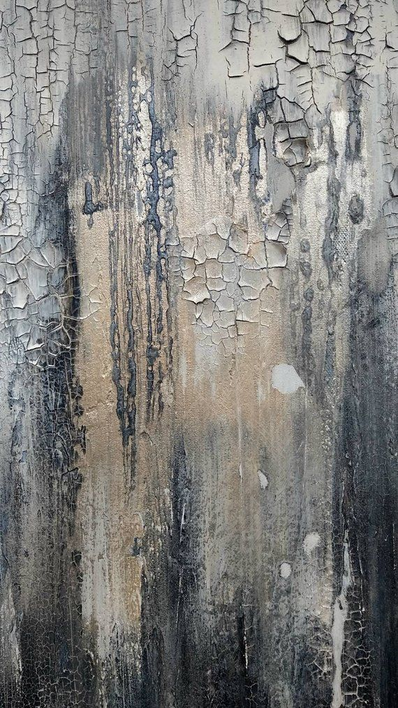 Original Abstract Painting By Amy Neal 24 x 30 Modern Texture Canvas Art Abstract Textured