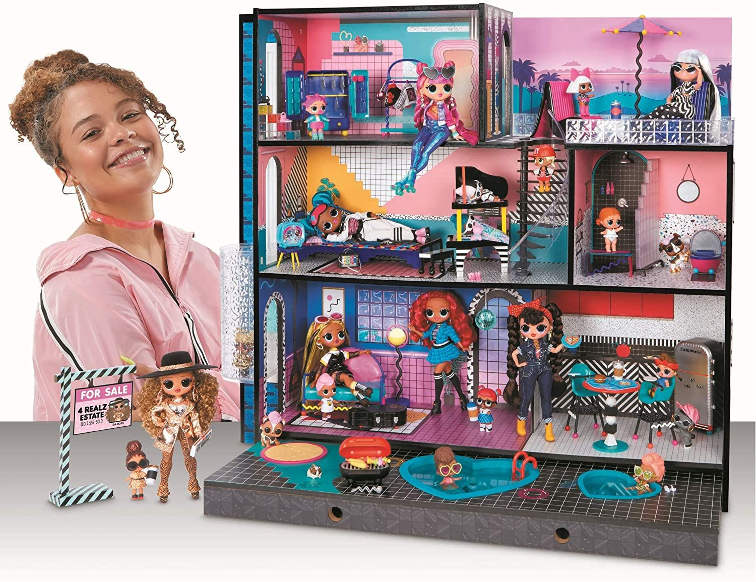 MGA has released new version of LOL Surprise doll house