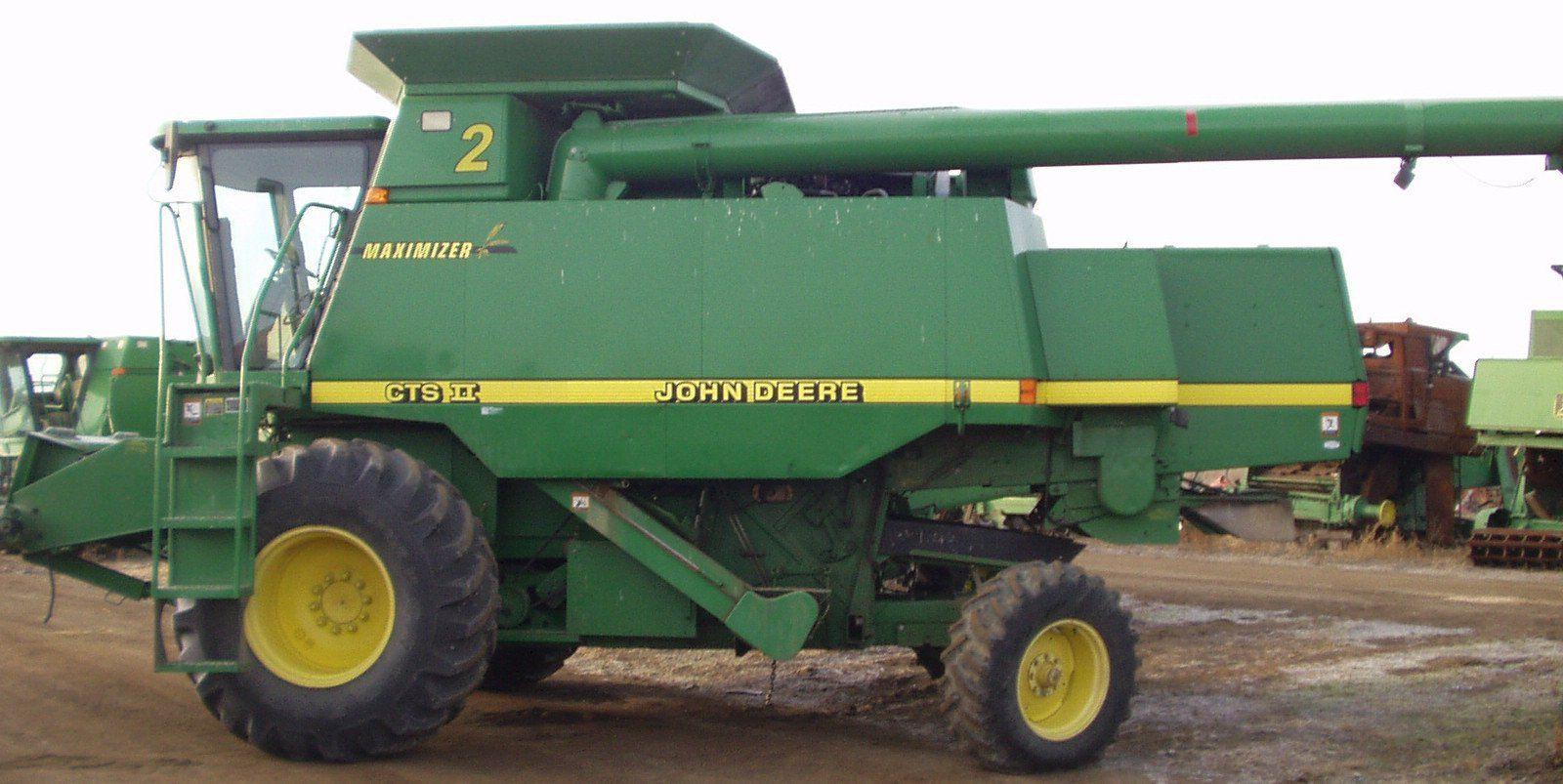 JOHN DEERE CTS II COMBINE PARTS CATALOG MANUAL PC2752 Parts Catalog, John  Deere Tractors,