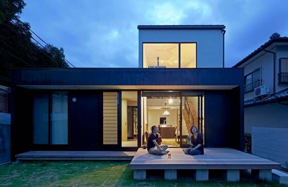 Traditional Japan Minimalist Home, Unique House | Home and Design ...