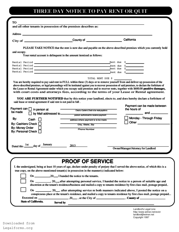30 Day Eviction Notice Pdf 30 Day Eviction Notice Lease Agreement Templates