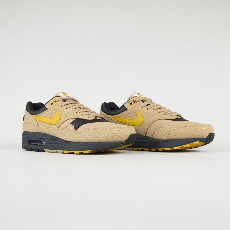 Nike Air Max 1 Premium Elemental Gold Mineral Yellow Black