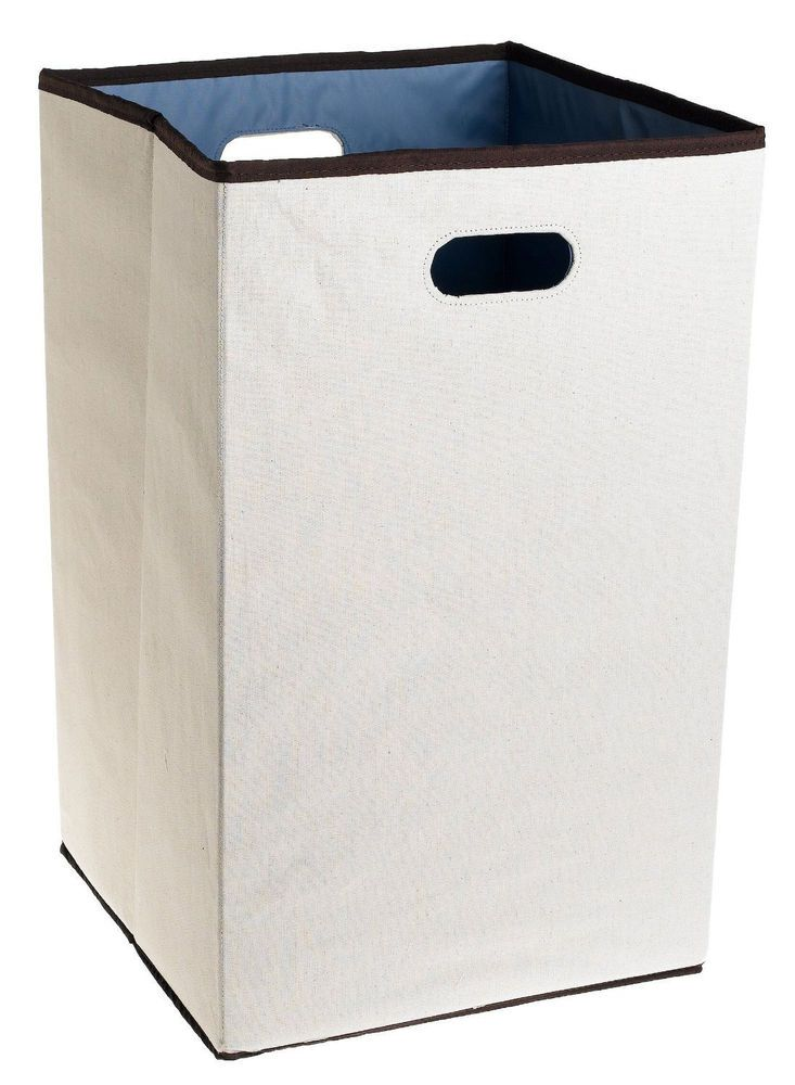 a20d9dfd79ed Folding Laundry Hamper Washing Basket Dirty Clothes Storage Sorter ...