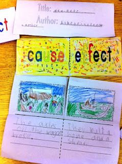 Books to teach cause and effect 2nd grade