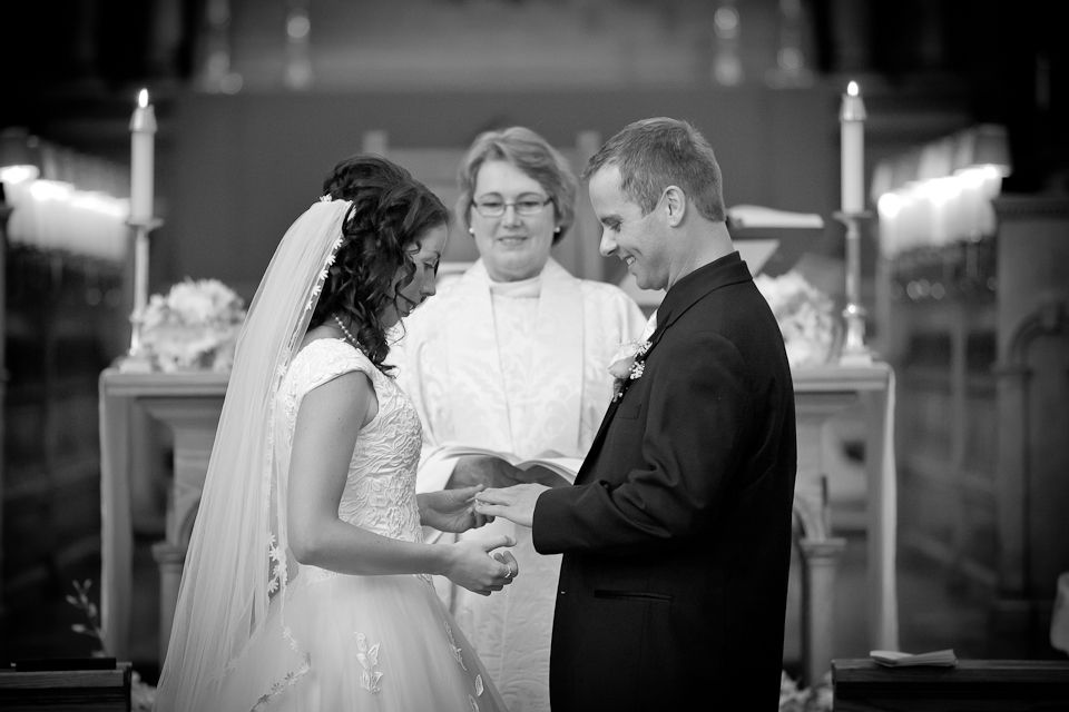 Understanding Photography Restrictions at your church // Indoor church wedding photography