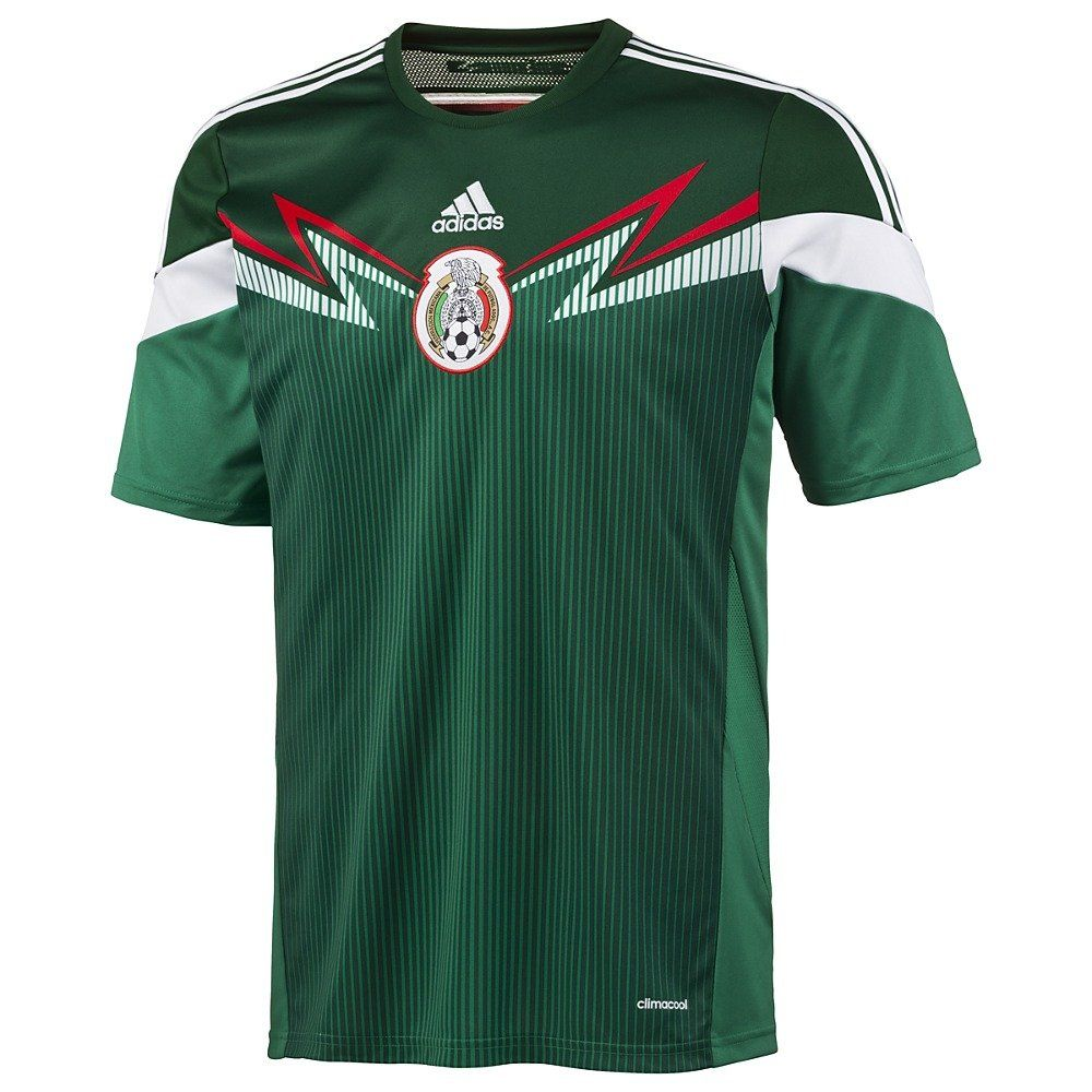 7aa6a644bd485 Amazon.com: adidas FMF H JSY Men Jersey Green/White G86985: Sports ...
